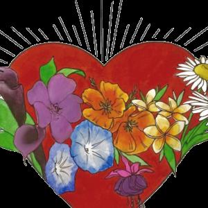 Loving Light heart logo