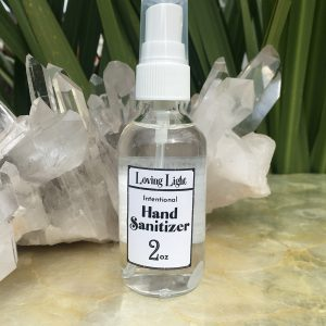 hand sanitizer front label 2oz