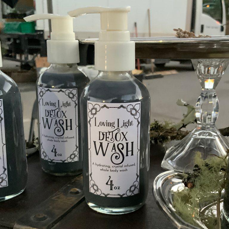 detox wash 4 oz bottle